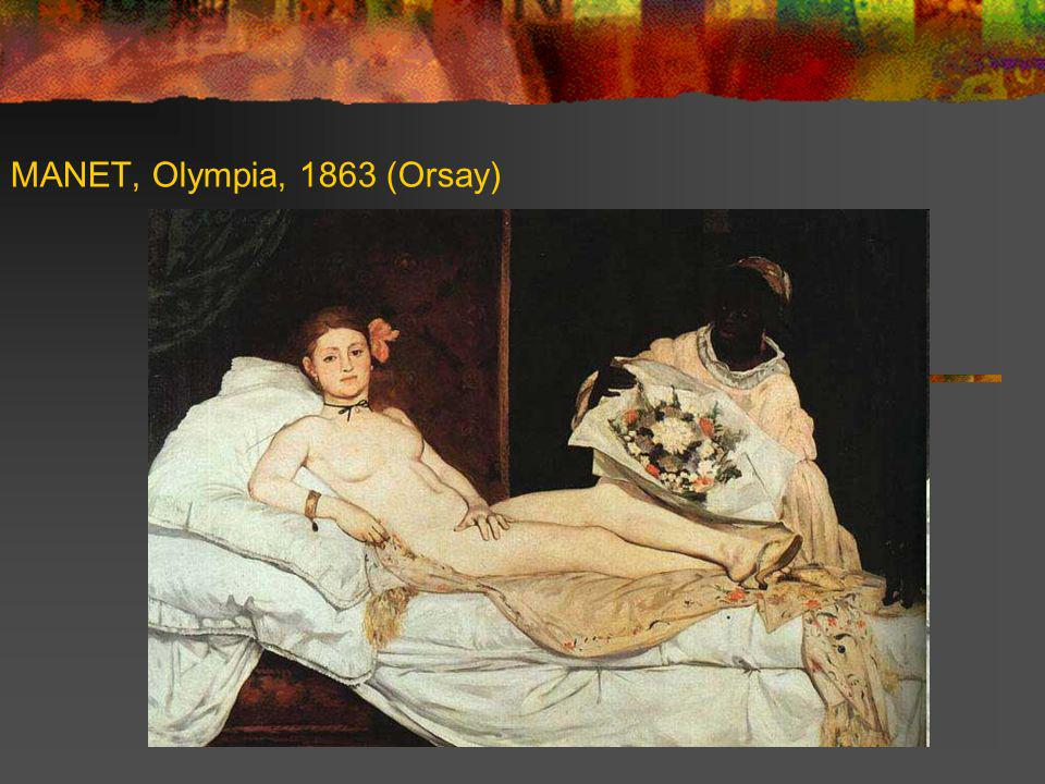 MANET, Olympia, 1863 (Orsay)