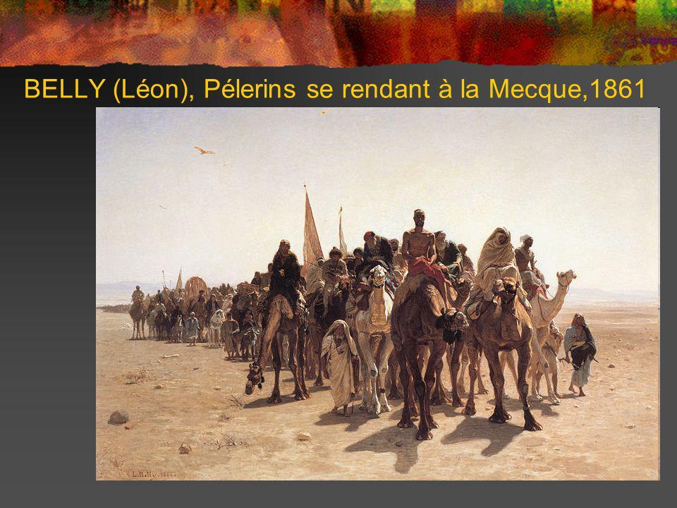 BELLY (Léon), Pélerins se rendant à la Mecque,1861
