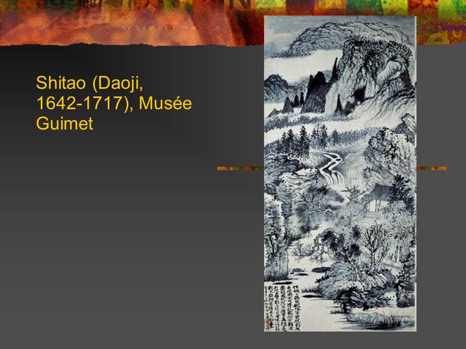 Shitao (Daoji, 1642-1717), Musée Guimet