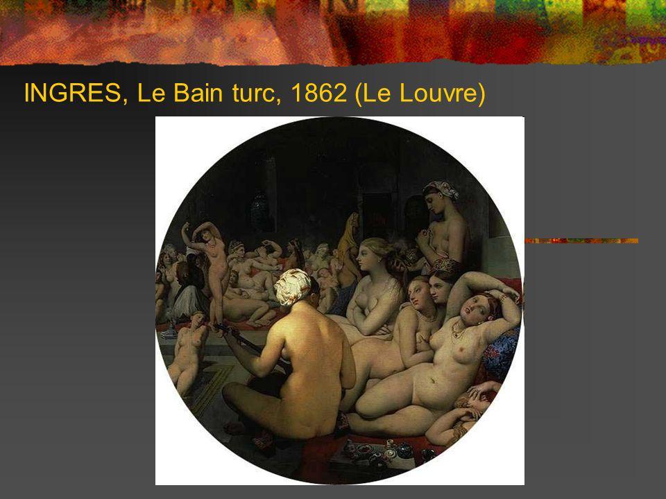 DELACROIX, Femmes dAlger dans leur appartement, 1834 (Le Louvre)