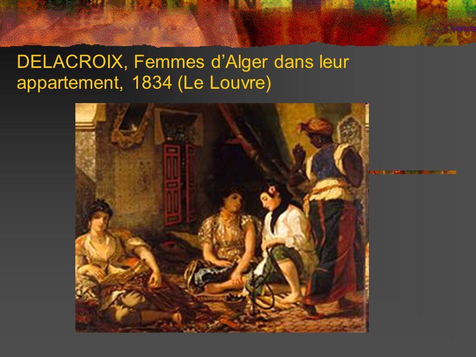 DELACROIX, La mort de Sardanapale, 1827 (Le Louvre)