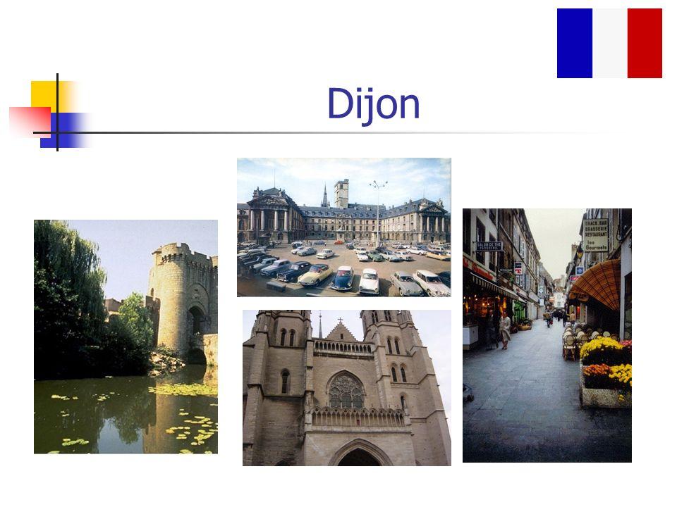 1e-Dijon à Bordeaux Je suis allé de Dijon a Bordeaux.