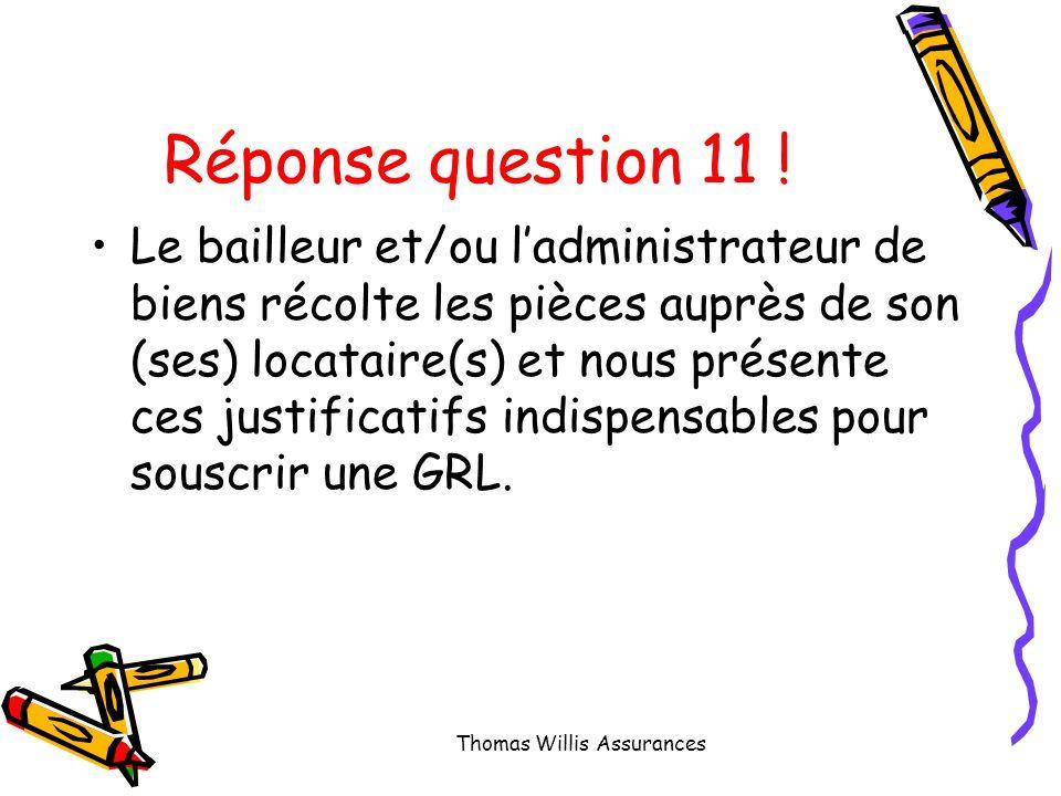 Question 11 : Qui conserve les justificatifs prouvant léligibilité du locataire .