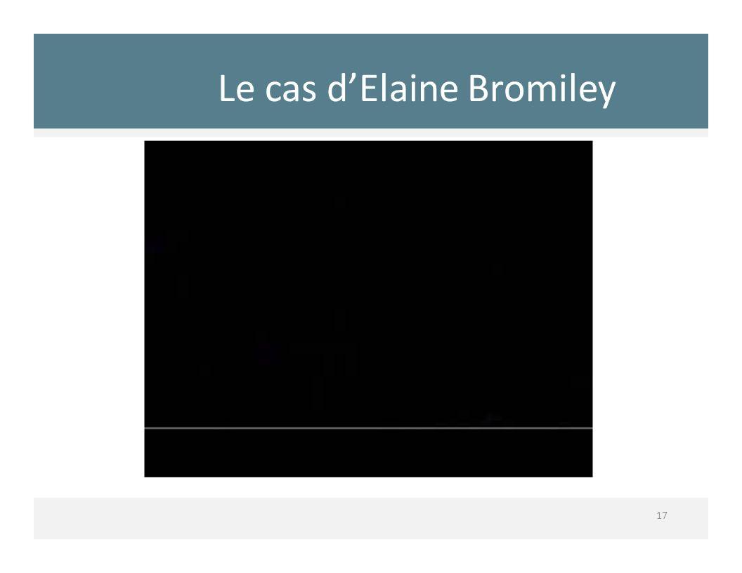 Le cas dElaine Bromiley 17