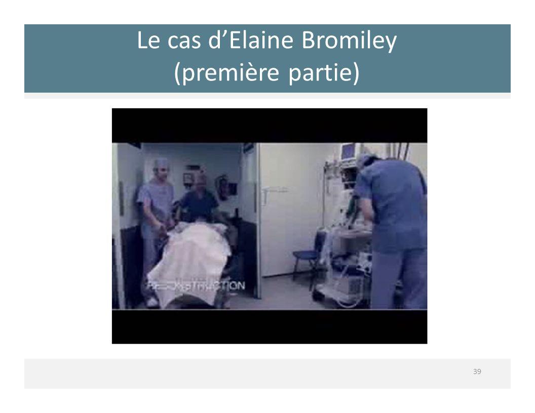 Le cas dElaine Bromiley (première partie) 39
