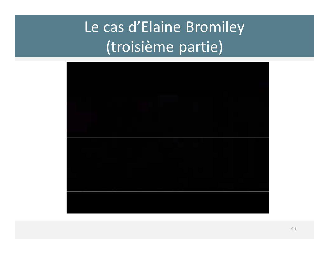 Le cas dElaine Bromiley (troisième partie) 43