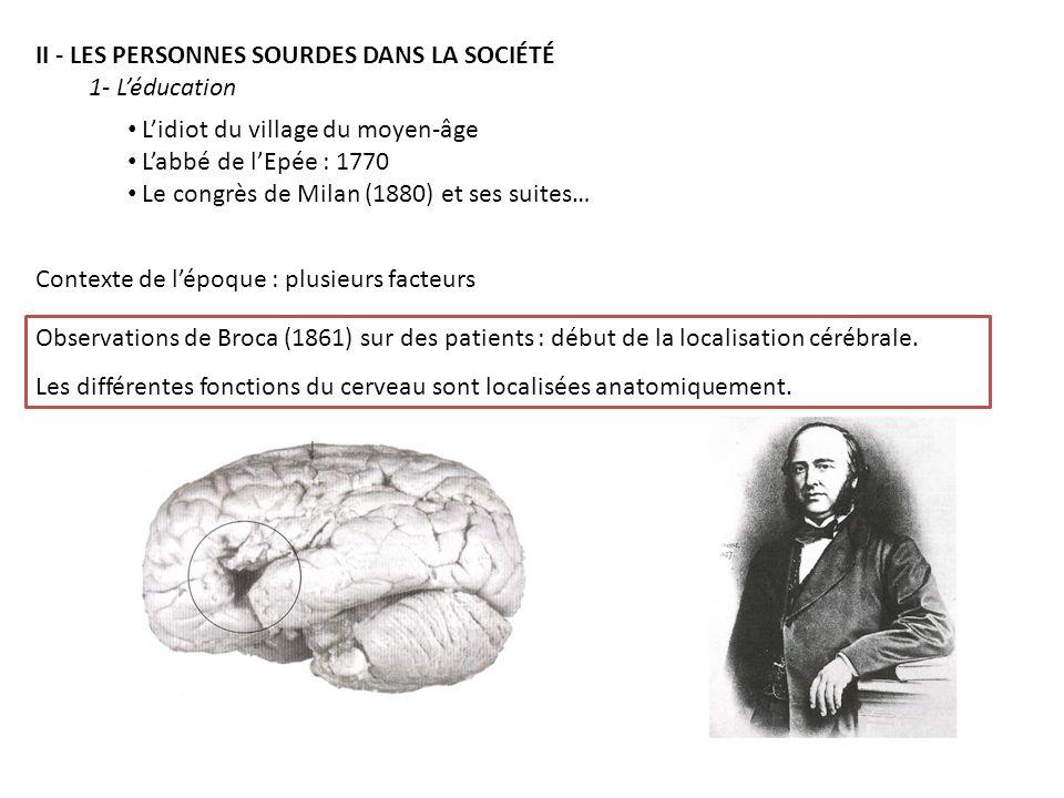 4,1 millions de sourds en France taux de chômage = 30% chez les sourds profonds et de 15% chez les sourds sévères manque de formation : 10% le nombre
