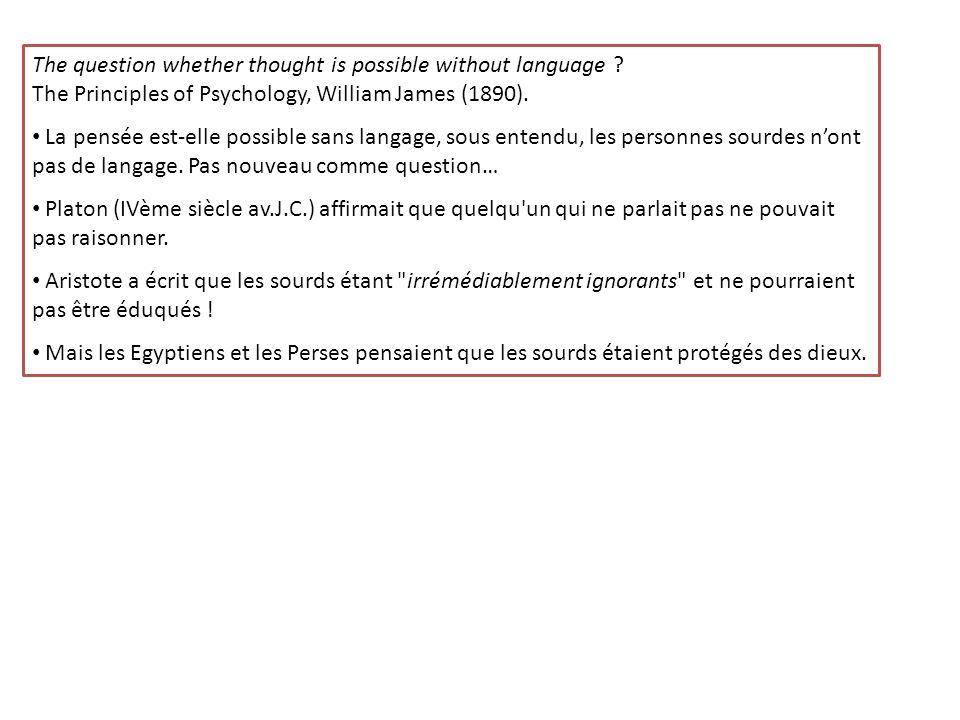Quelques mots sur la Langue des Signes Française…