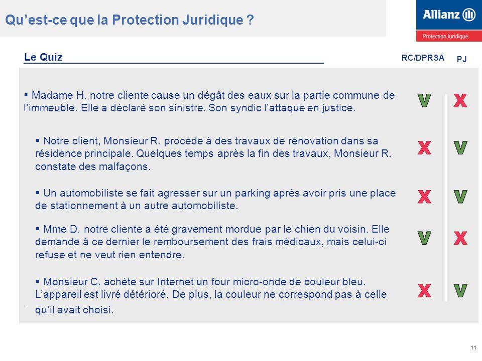 Quest-ce que la Protection Juridique ?.11 Madame H.