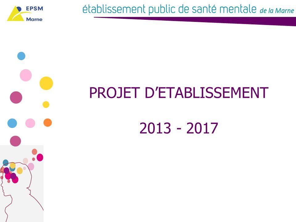 Le projet détablissement 2013 - 2017 CONCLUSION