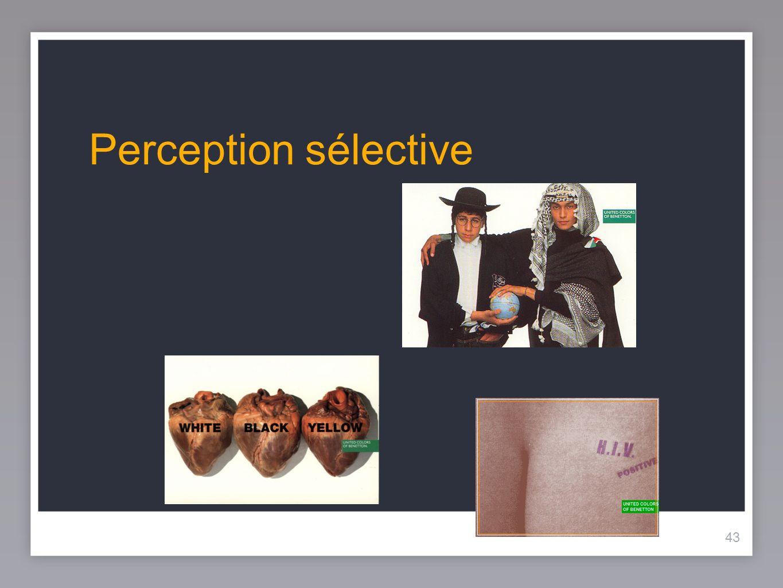 43 Perception sélective 43