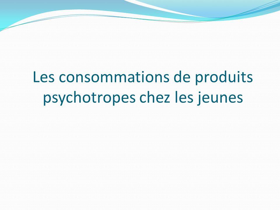 Les consommations de produits psychotropes chez les jeunes