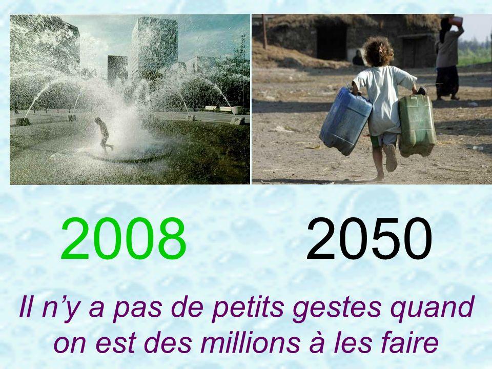 20082050 Il ny a pas de petits gestes quand on est des millions à les faire