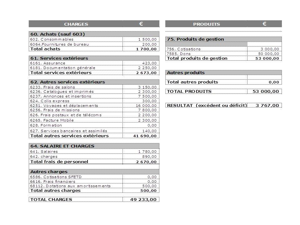 Autres points de lordre du jour Montant de la cotisation pour les Adhérents de lAssociation pour lannée 2011 –Le Conseil dAdministration a décidé lors de la réunion du 4 février 2011 de laisser le montant de la cotisation à 20 Euros.