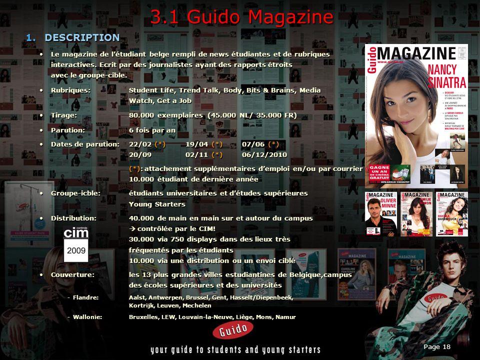 Page 18 3.1 Guido Magazine 1.