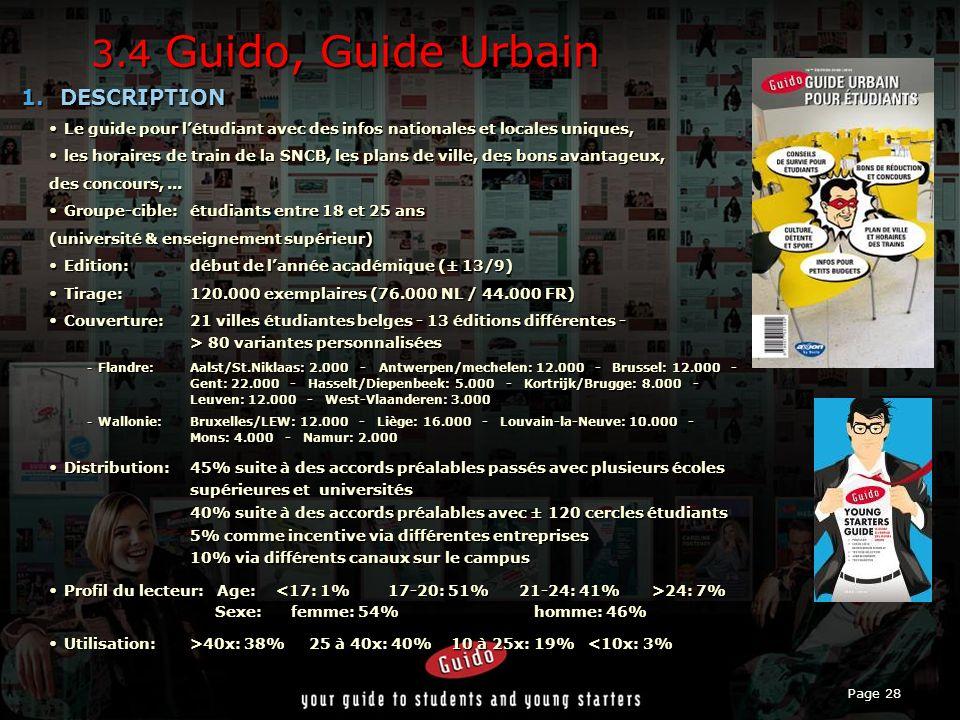 Page 28 3.4 Guido, Guide Urbain 1.