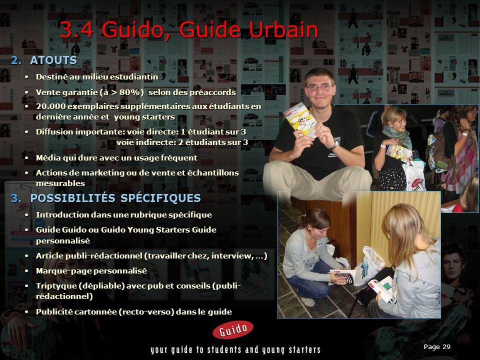 Page 29 3.4 Guido, Guide Urbain 2.