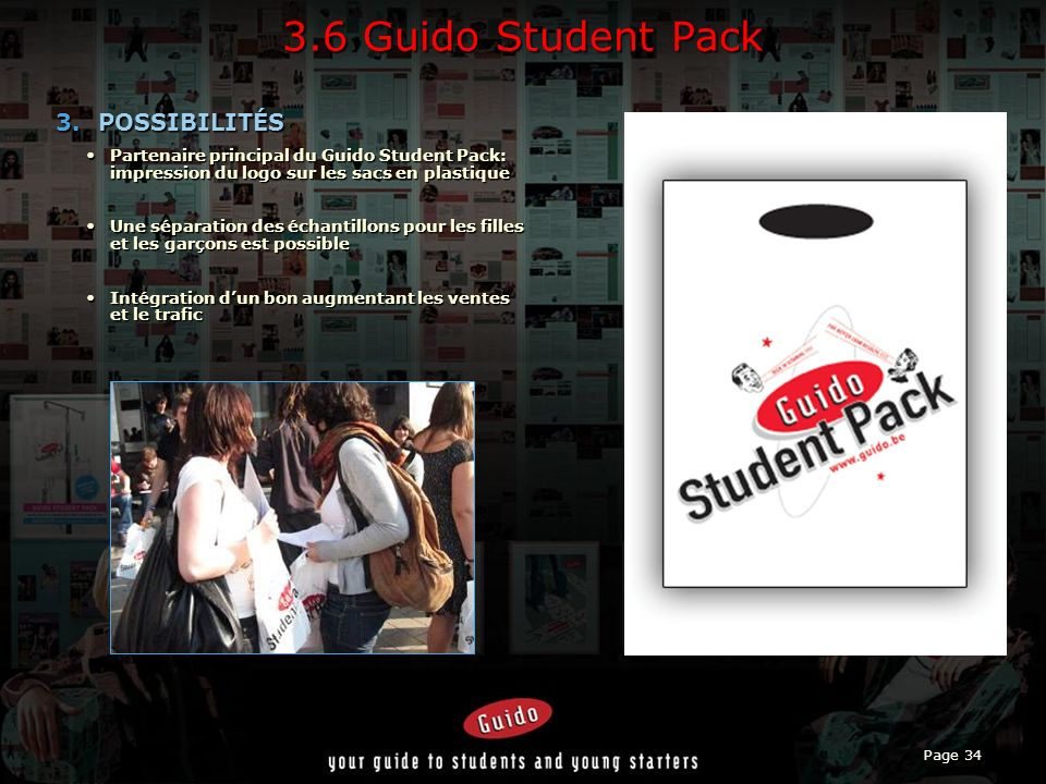 Page 34 3.6 Guido Student Pack 3.