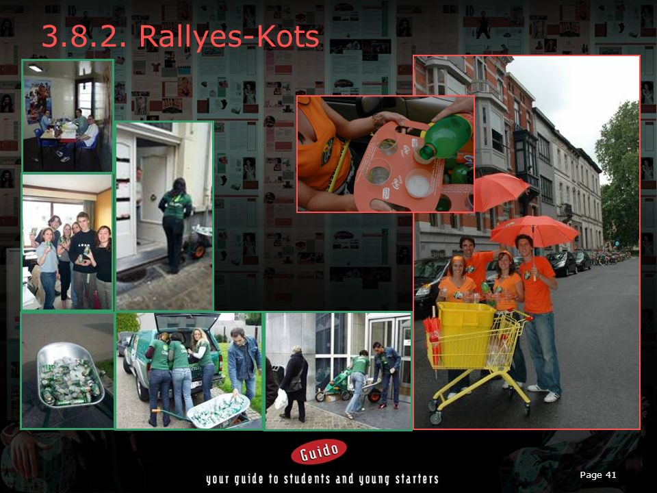 Page 41 3.8.2. Rallyes-Kots