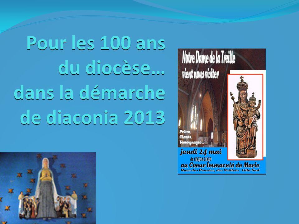 Diaconia 2013… des paroles à suivre Coup de joie : le réveil de ma marraine et la venue prochaine de notre 23 ème arrière petit-enfant .