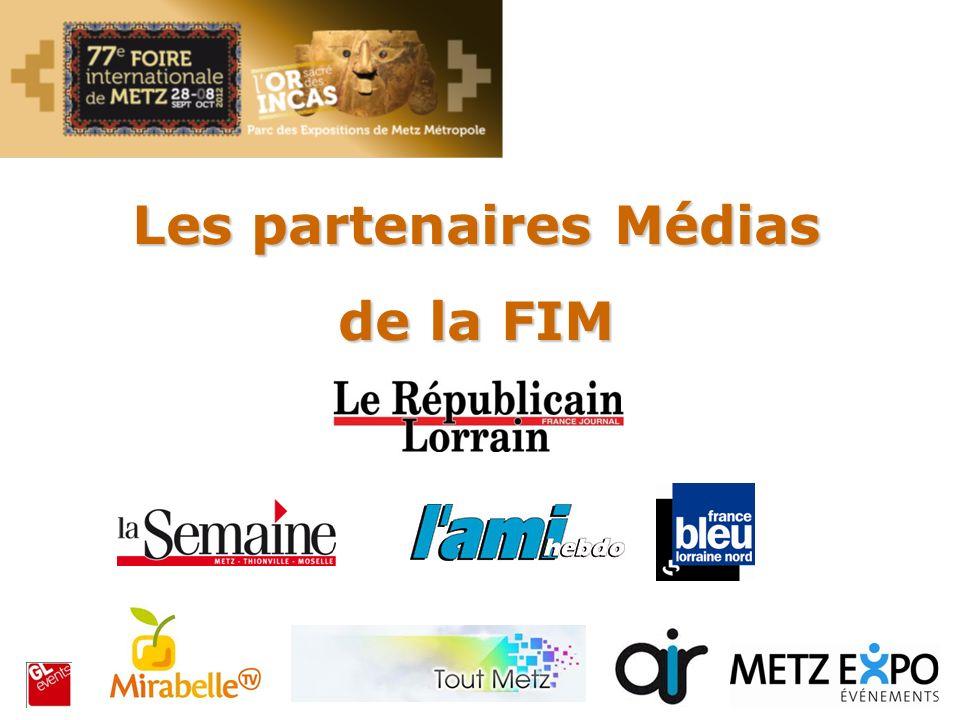 Les partenaires Médias de la FIM