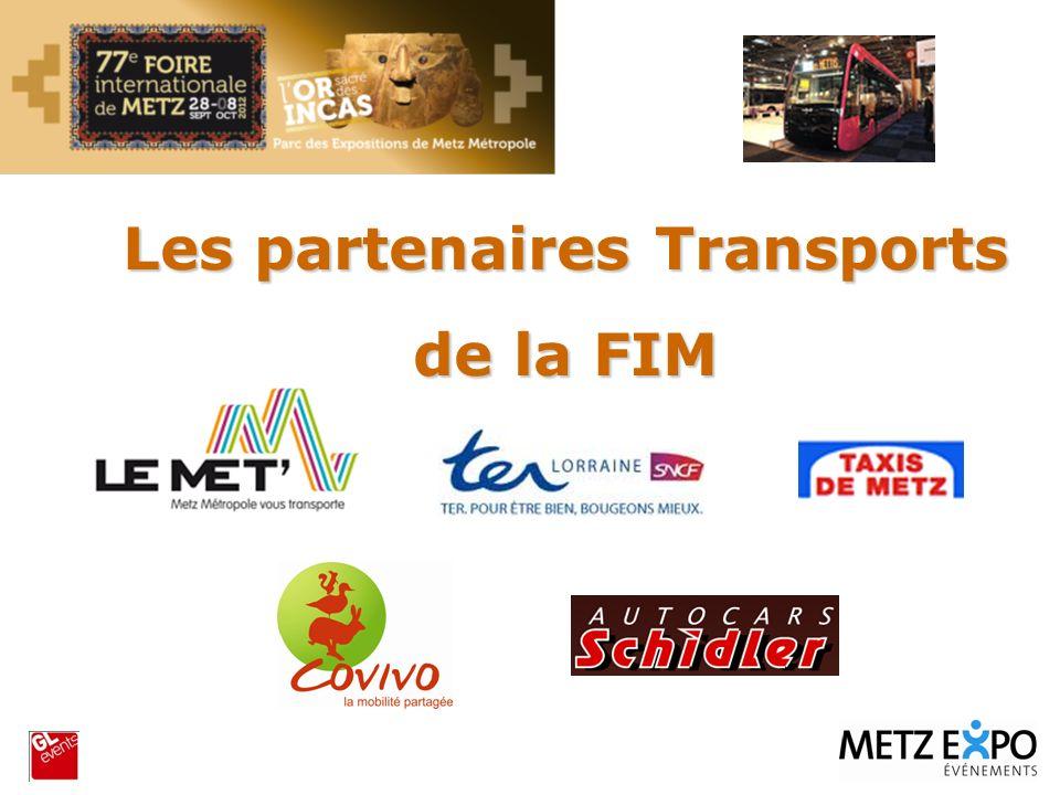 Metz Les partenaires Transports de la FIM