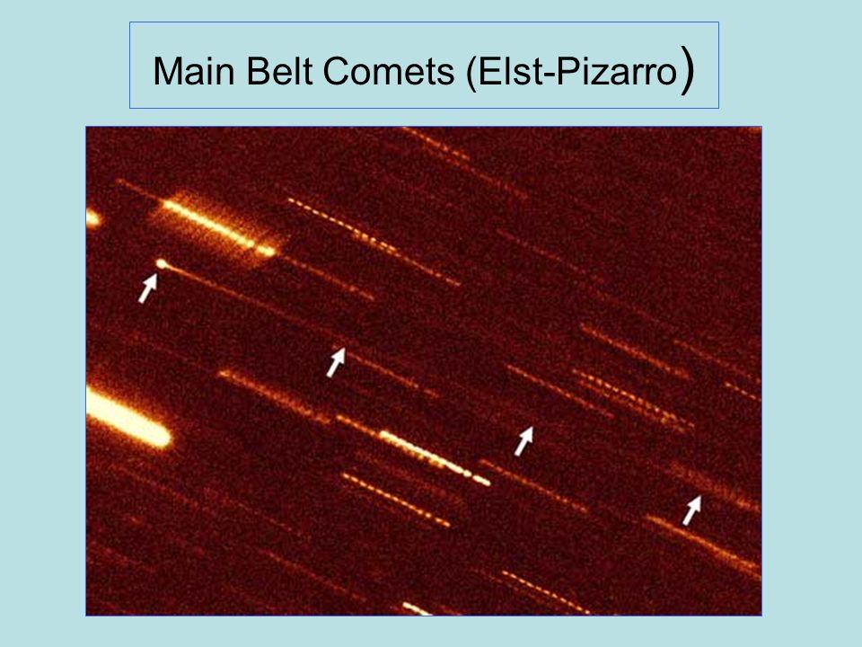 Main Belt Comets (Elst-Pizarro )