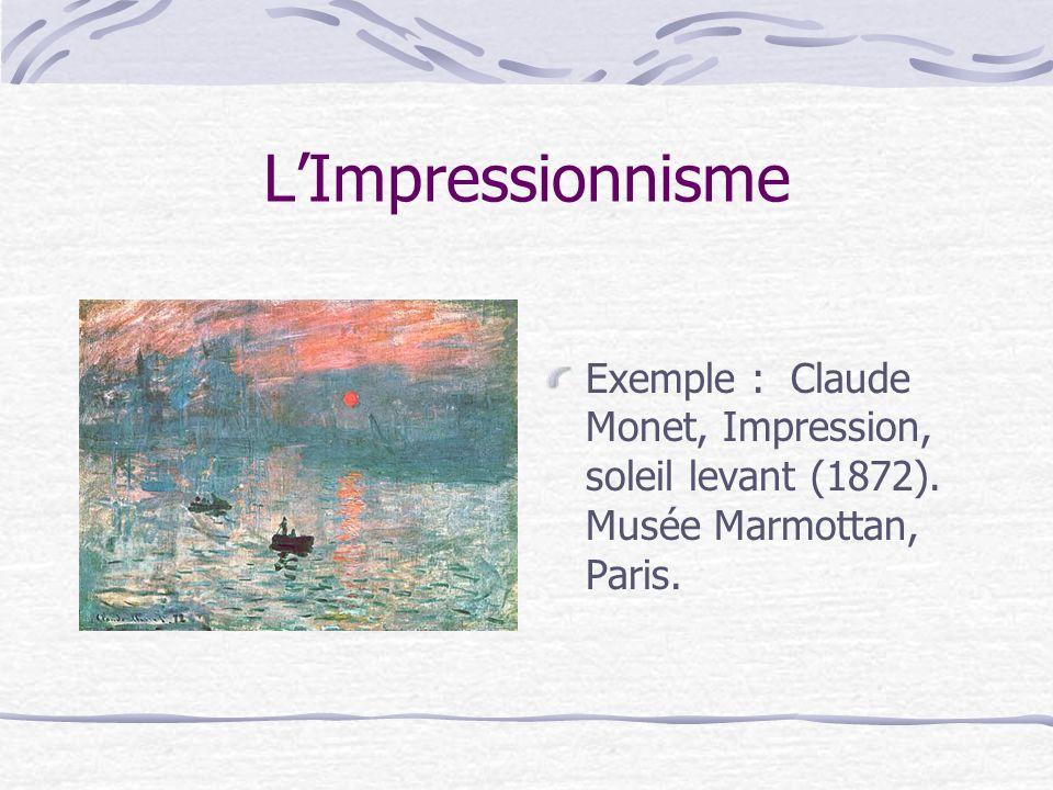 Le Japonisme Exemple : Henri de Toulouse-Lautrec, La danse au Moulin- Rouge (1890).