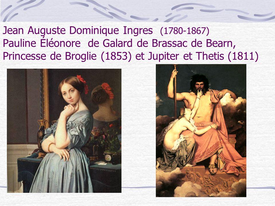 Jean Auguste Dominique Ingres (1780-1867) Le Bain Turc (1862) et lOdalisque avec une esclave (1840)