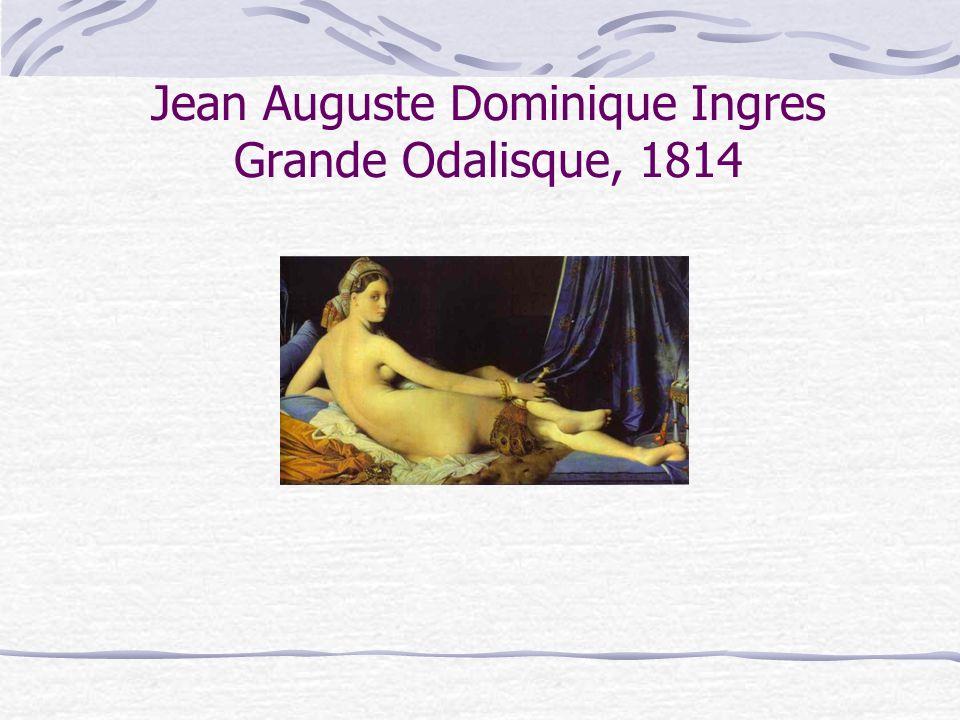 Jean Auguste Dominique Ingres Grande Odalisque, 1814