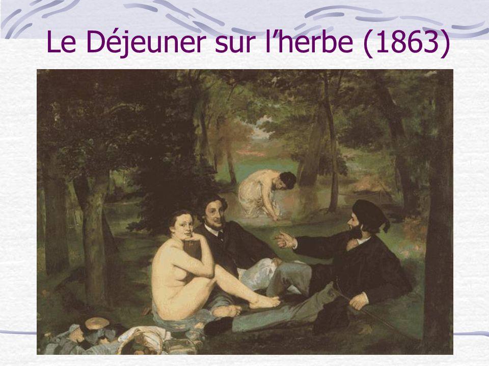 Le Déjeuner sur lherbe (1863)