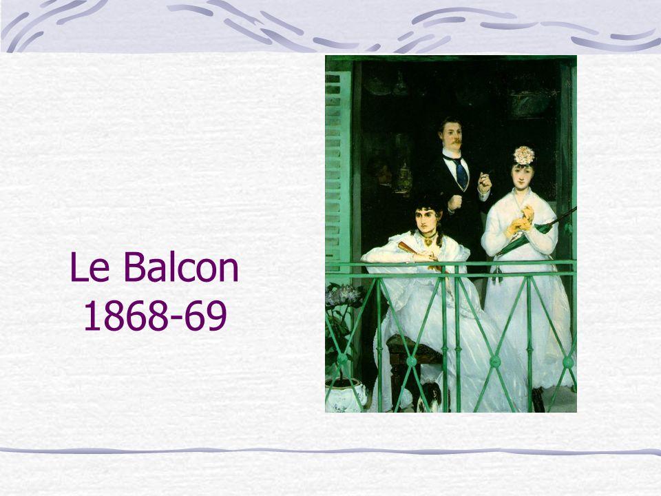Cet énigmatique tableau [qui] n a pu être peint qu en atelier, à partir des esquisses des différents protagonistes, fut accepté au Salon de 1869.