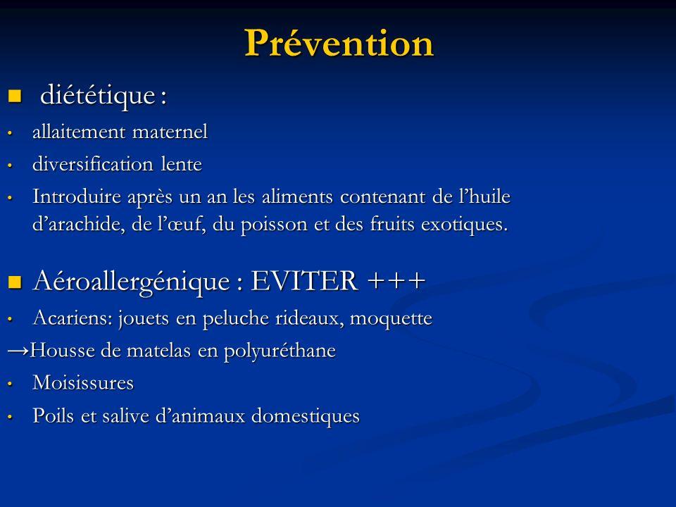 Prévention Aéroallergénique : EVITER +++ Acariens: jouets en peluche rideaux, moquette Housse de matelas en polyuréthane Moisissures Poils et salive d