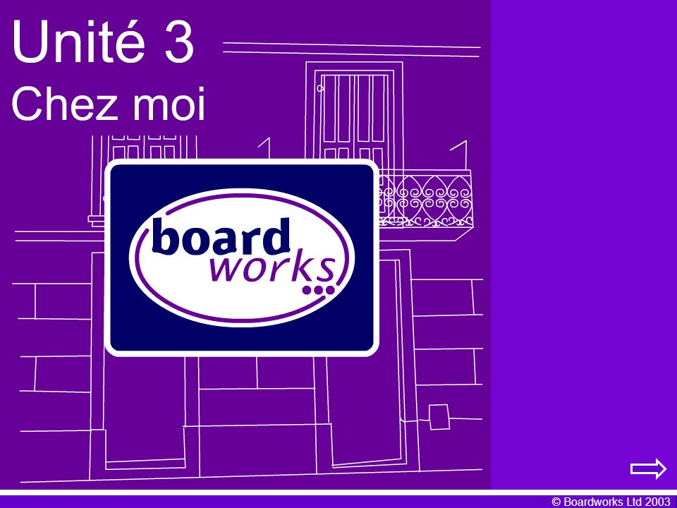 © Boardworks Ltd 2003 Regular –er verbs You have already learnt some French verbs in the present tense.