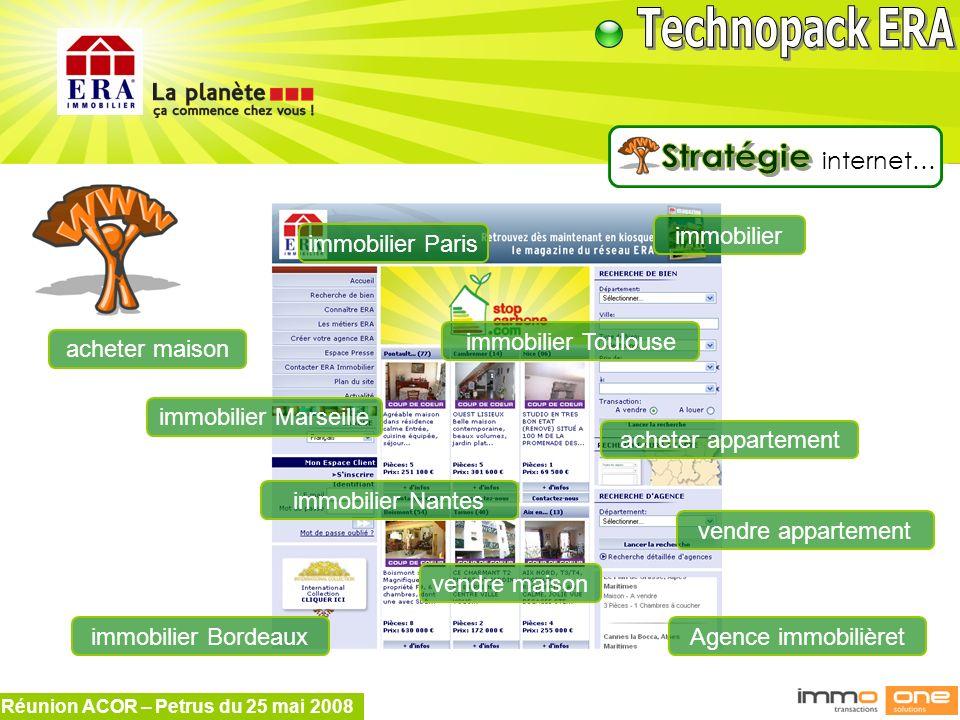 Réunion ACOR – Petrus du 25 mai 2008 internet… acheter maison vendre maison acheter appartement vendre appartement Agence immobilièret immobilier immo