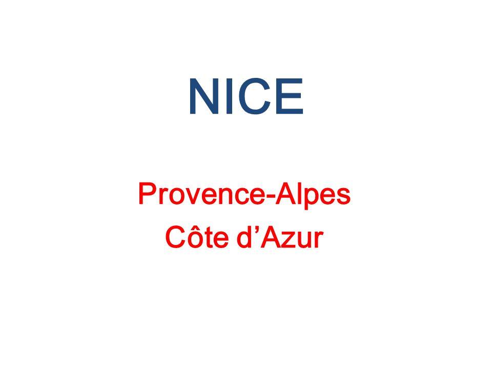 NICE Provence-Alpes Côte dAzur