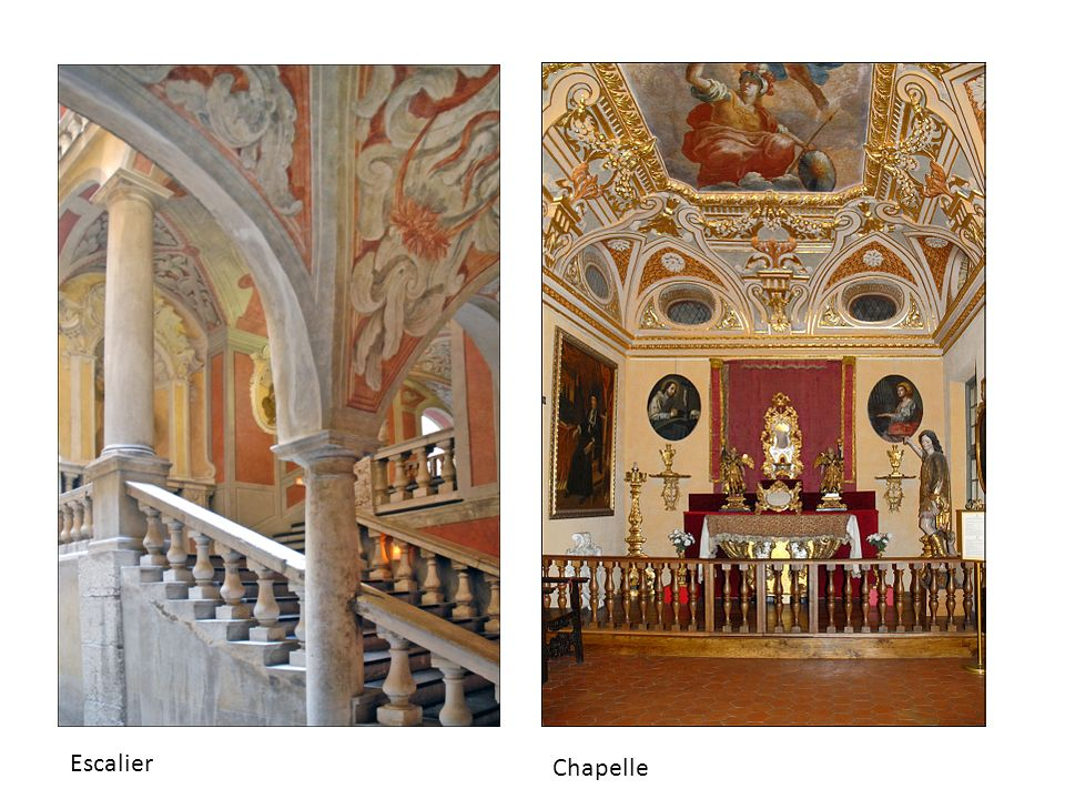 Escalier Chapelle