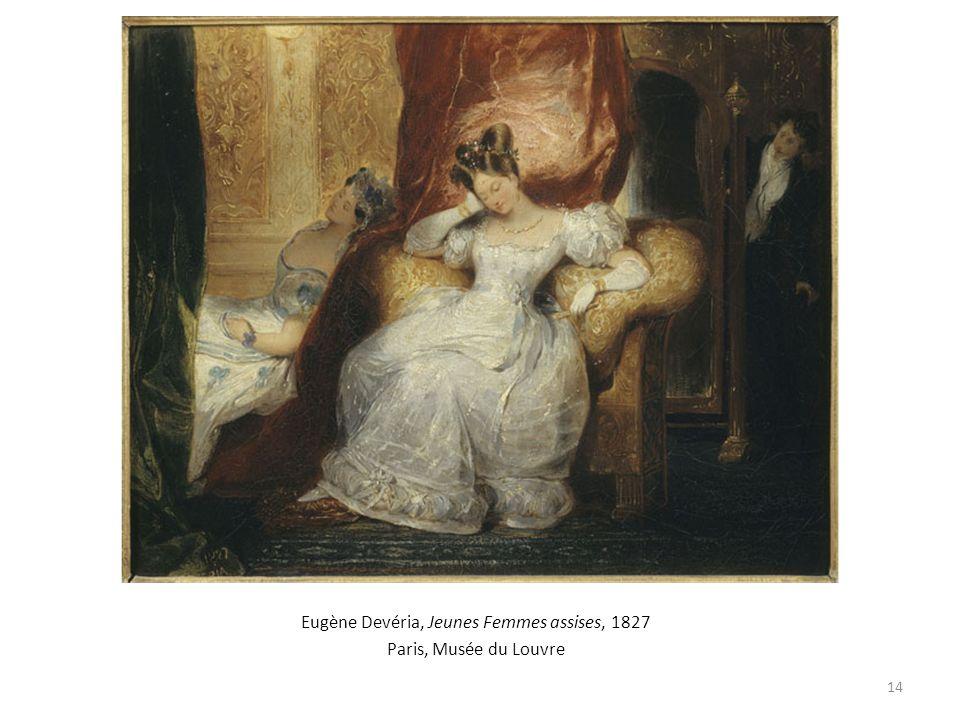 Eugène Devéria, Jeunes Femmes assises, 1827 Paris, Musée du Louvre 14