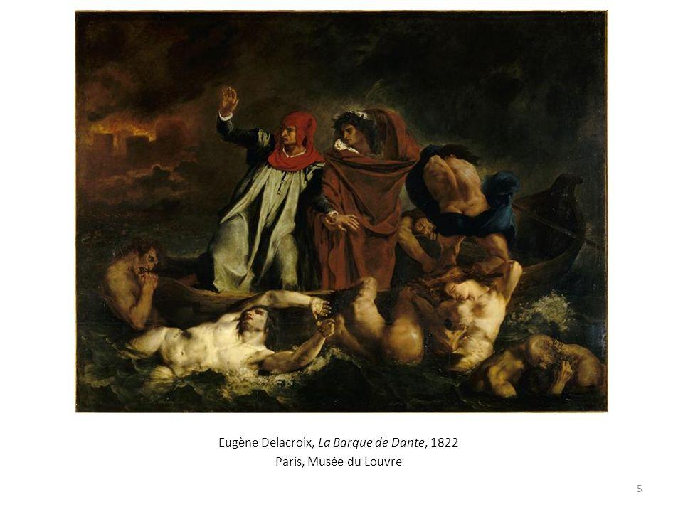 Eugène Delacroix, La Barque de Dante, 1822 Paris, Musée du Louvre 5