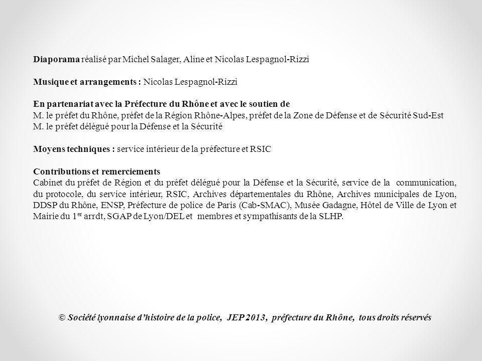 Diaporama réalisé par Michel Salager, Aline et Nicolas Lespagnol-Rizzi Musique et arrangements : Nicolas Lespagnol-Rizzi En partenariat avec la Préfec