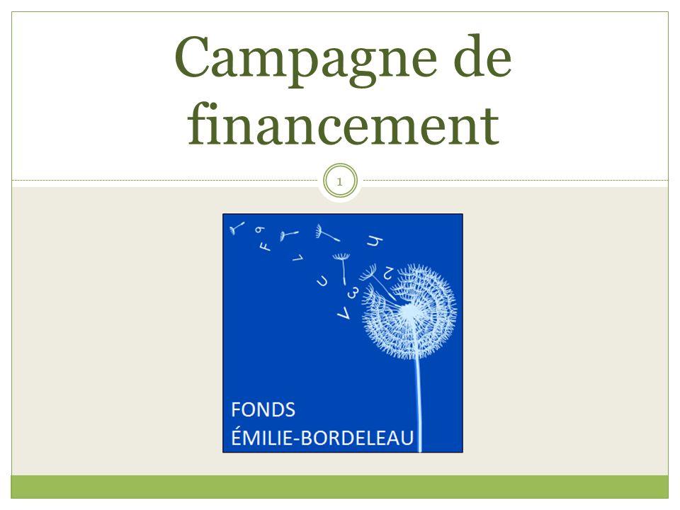 Campagne de financement 1