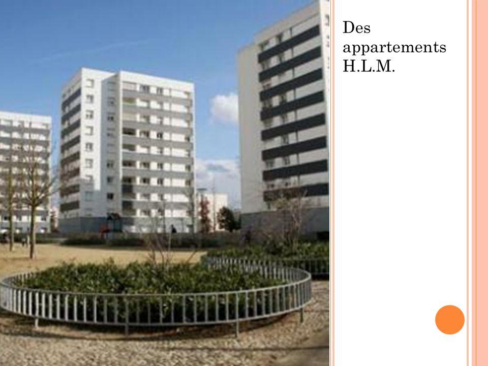 Des appartements H.L.M.