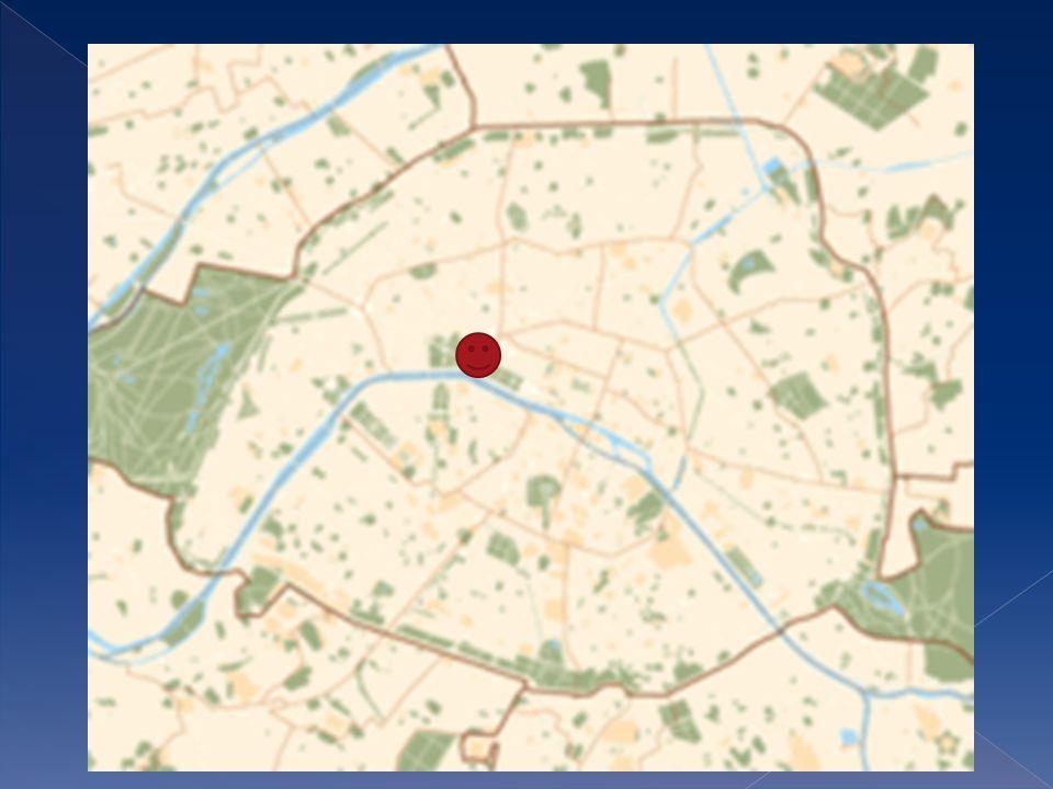 Vous la trouverez dans le huitième arrondissement Elle est sur la Rive gauche de la Seine Elle est entre l avenue des Champs- Élysées et la Jardin des Tuileries