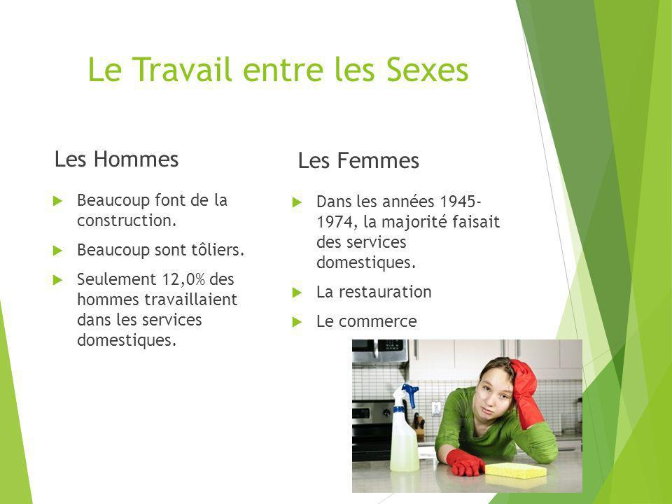 La Comparaison entre les Nées Françaises Certains immigrés sont très professionnels comme les nées françaises.