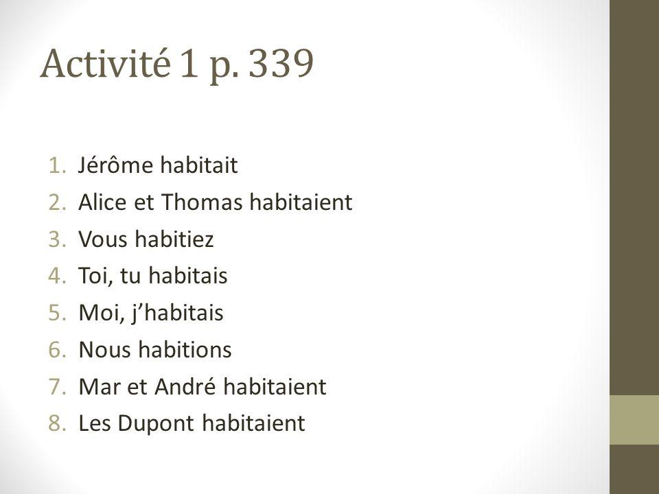 Activité 1 p.