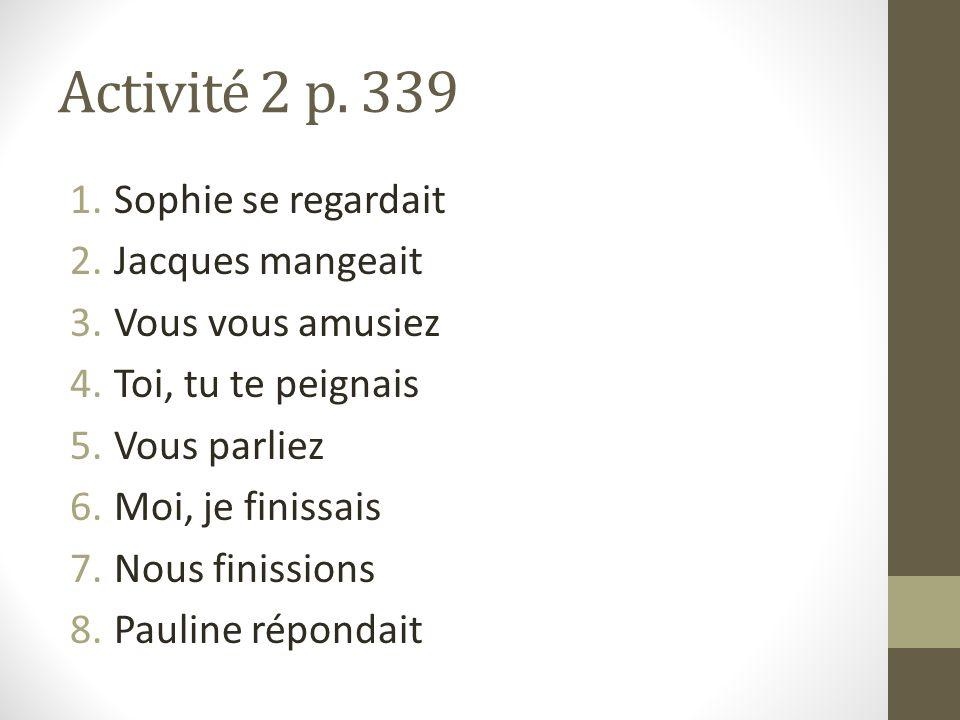 p.342 activité 7 Maintenant, Monsieur Michel habite dans une grande maison.