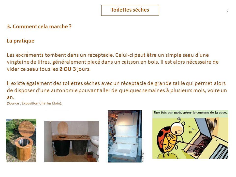 Toilettes sèches 38 13.Annexe : Larborloo (suite) Creusement de la fosse.