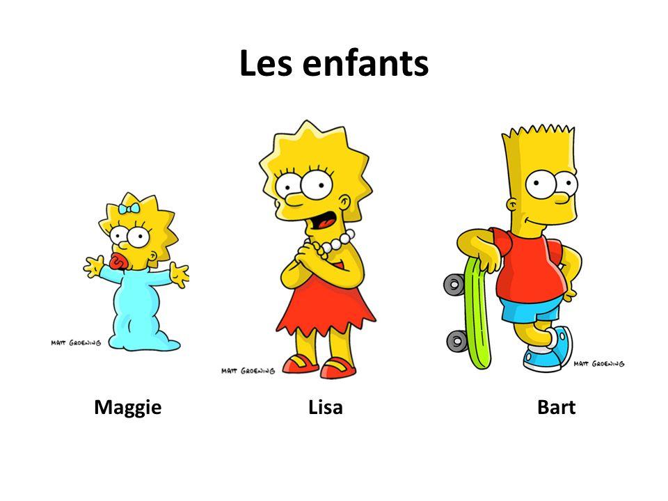 Les enfants MaggieLisaBart
