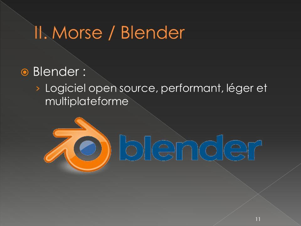 Blender : Logiciel open source, performant, léger et multiplateforme 11