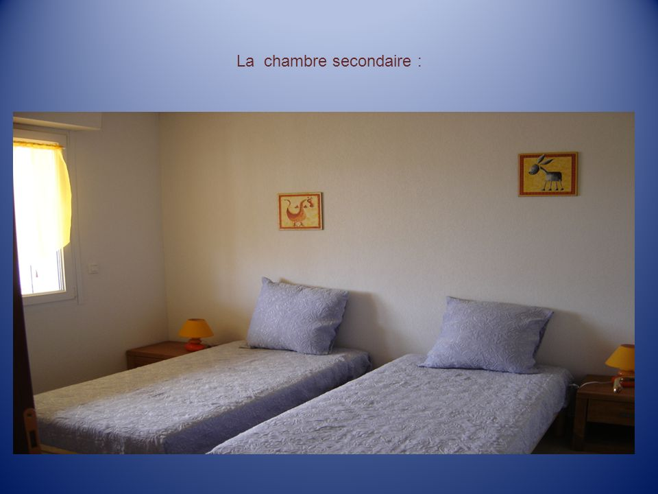 La chambre secondaire :
